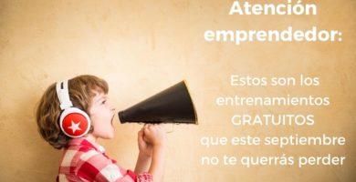 entrenamiento gratuito emprendedor